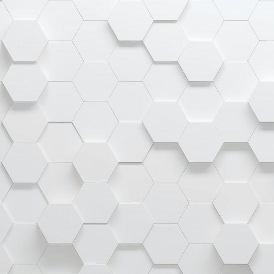 heksagonalny parametryczny wzór, 3d ilustracja