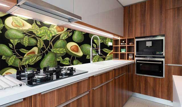 Naklejka nad blat kuchenny - Avocado