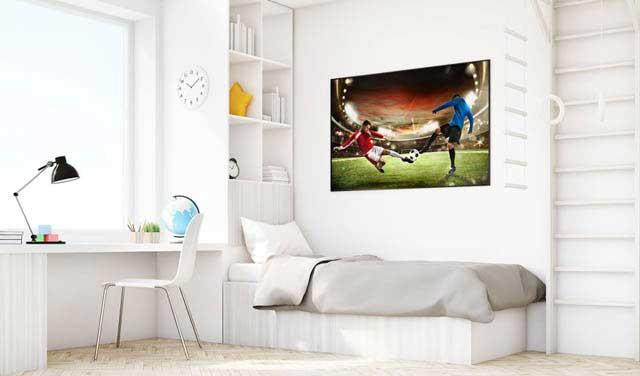 Football - mecz na stadionie