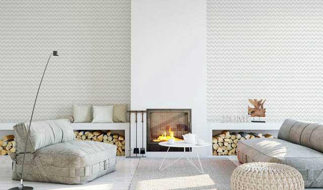 Pastelowy wzór do salonu