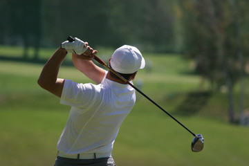 golf swing finish
