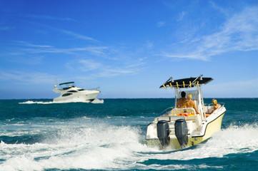tropical boating