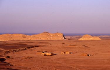 egitto e deserto