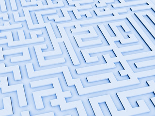 turns of a labyrinth