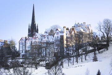Edinburgh in the Snow