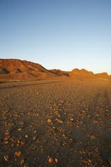 Deserto di pietre in Tunisia