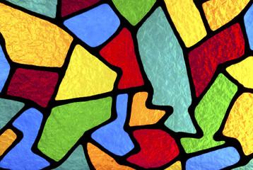 Multi colored designs.