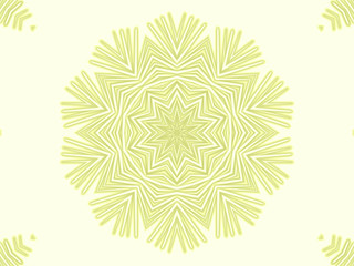 yellow snowflake. Abstract background