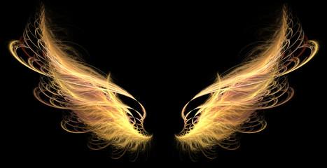 Demon Angel Fire hell Wings