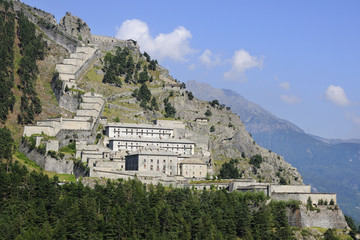 Fenestrelle fortress - 1728 to 1850 - Italy