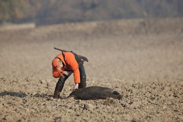 erfolgreiche Jagd auf Schwarzwild