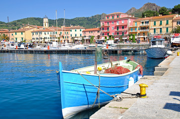 in Porto Azzurro auf der Insel Elba