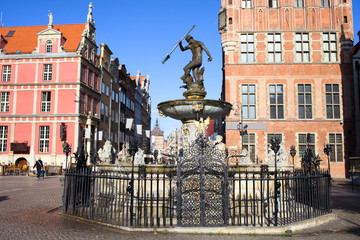 Gdansk Old City in Poland