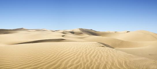 Gold desert.