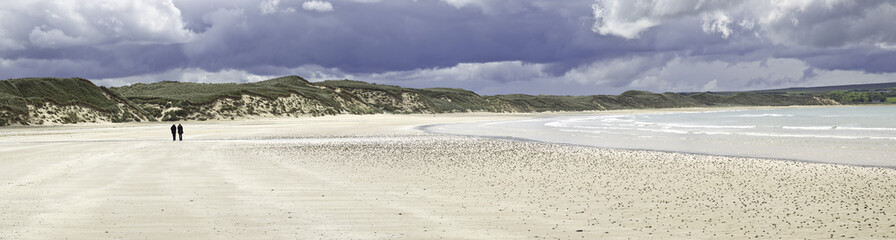 strand in schottland - dunnet bay