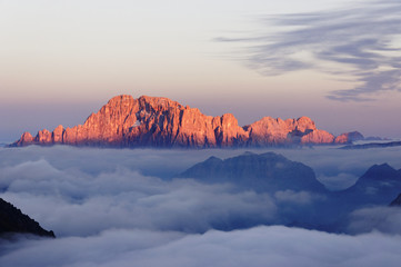 Dolomiti Monte Civetta