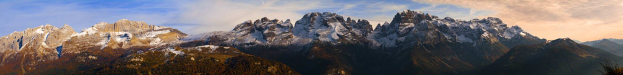 Panoramica Dolomiti di Brenta © Stegrim