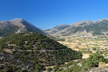 Askyfou plateau at Crete island in Greece