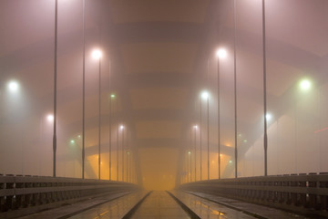 Kotlarski bridge, Krakow, Poland