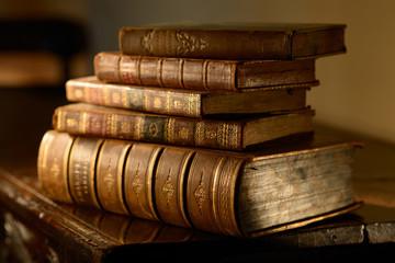 VintageBooks.Selective focus