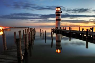 Lighthouse at night - Austria