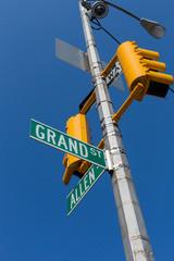 Street signs in New York