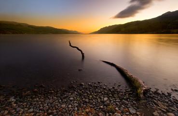 Loch Ness sunrise Highlands Scotland