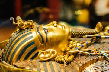 Mask of pharaoh Tutankhamun