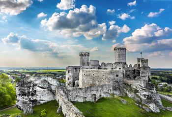 Castle, Ogrodzieniec fortifications, Poland.
