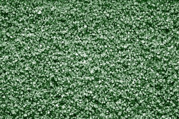 crystal texture from minerals of green color