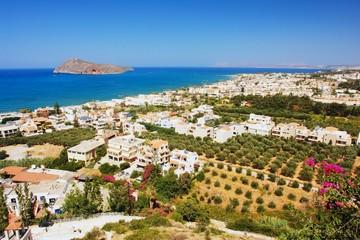 View of the Platanias, Crete