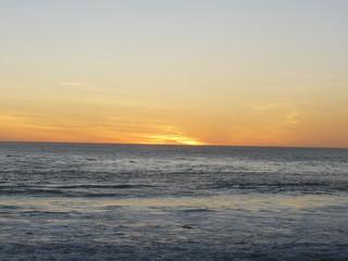 Soleil couchant sur Océan Indien 9