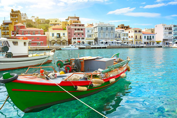 Boat. Agios Nikolaos. Crete