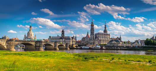 The ancient city of Dresden, Germany