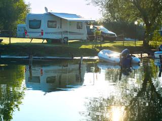 Campsite scene