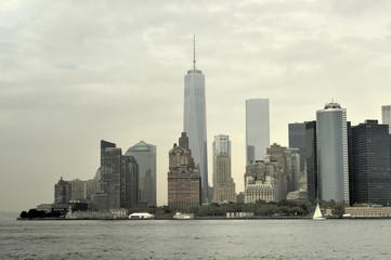 View of Downtown Manhattan, New York