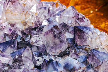 Background with energy crystals