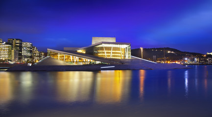 Oslo Opera House or Norwegian National Opera and Ballet, Norway.