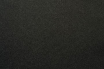 texture of black color a brushed paper sheet