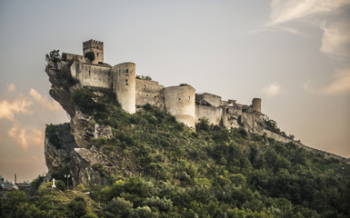 Fortress on the rock