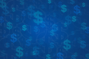 Dollar sign for background
