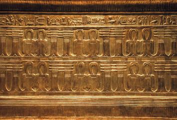 Objects from the thomb of Tutankhamen