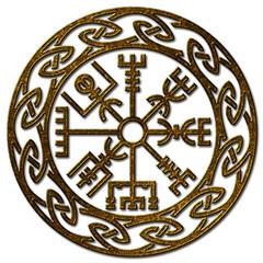Vegvísir, Icelandic Sign, Viking Compass