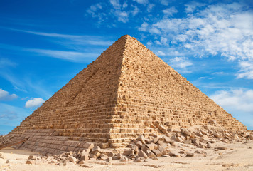 Pyramid of Khufu, Giza, Egypt