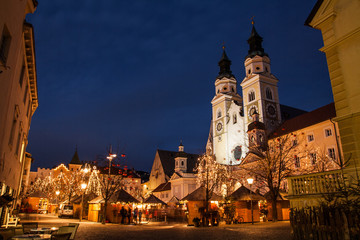 Mercatino di Natale, Bressanone, Trentino Alto Adige, Italia