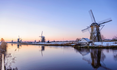 A winter morning in the Netherlands