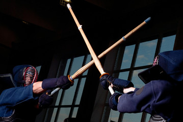 Kendo fighting