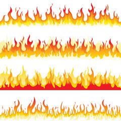 Seamless Fire Flame