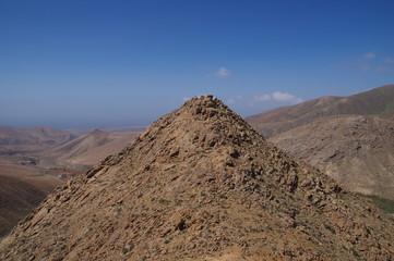 Berglandschaft auf Fuerteventura 5