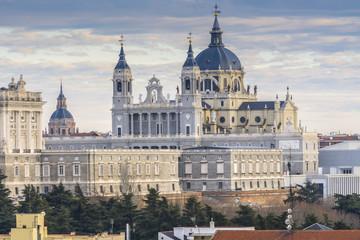 Cathedral of La Almudena, Madrid (Spain)